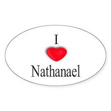 Nathanael Oval Decal
