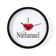 Nathanael Wall Clock