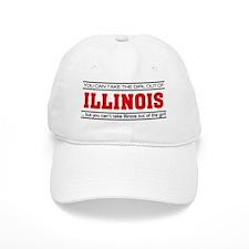 'Girl From Illinois' Baseball Cap