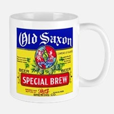 Nebraska Beer Label 4 Mug