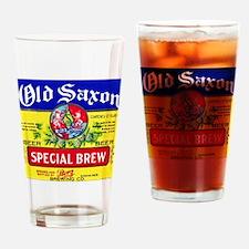 Nebraska Beer Label 4 Drinking Glass