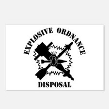 EOD logo Postcards (Package of 8)