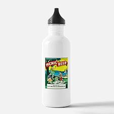 Wisconsin Beer Label 15 Water Bottle