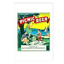 Wisconsin Beer Label 15 Postcards (Package of 8)
