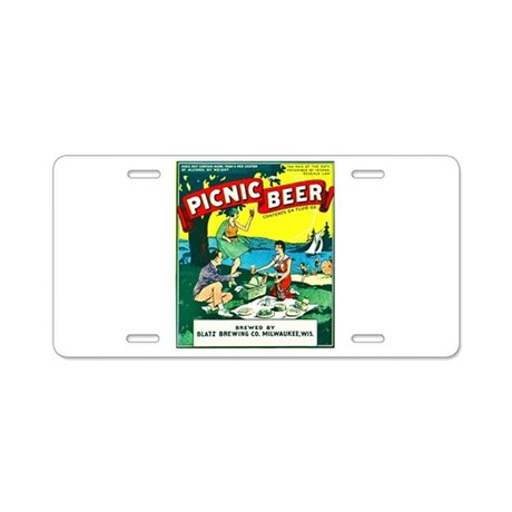 Wisconsin Beer Label 15 Aluminum License Plate