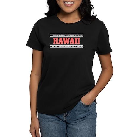 'Girl From Hawaii' Women's Dark T-Shirt
