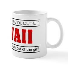 'Girl From Hawaii' Mug
