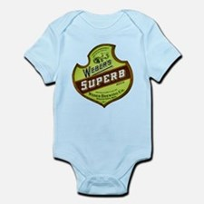 Wisconsin Beer Label 8 Infant Bodysuit