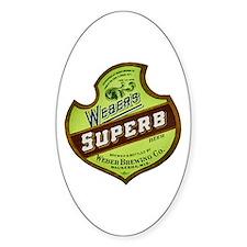 Wisconsin Beer Label 8 Decal