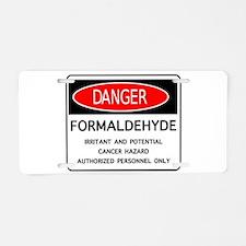 Funny Murder Aluminum License Plate