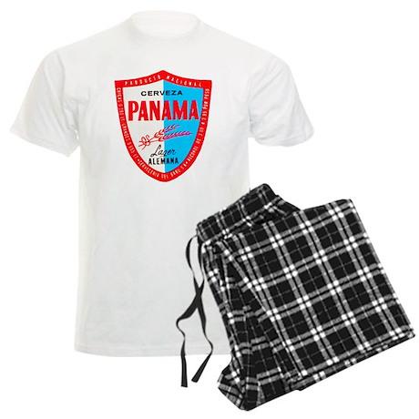 Panama Beer Label 1 Men's Light Pajamas