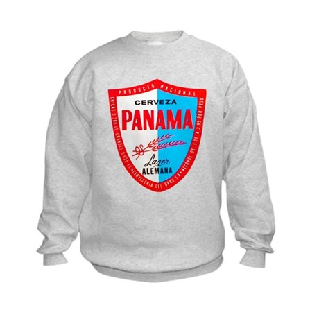 Panama Beer Label 1 Kids Sweatshirt