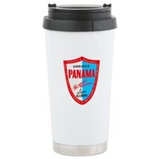 Panama Beer Label 1 Travel Mug