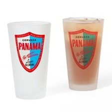 Panama Beer Label 1 Drinking Glass