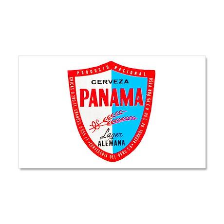 Panama Beer Label 1 Car Magnet 20 x 12