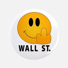 "Eff Off Wall Street - 3.5"" Button"