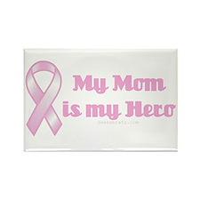 my mom is my hero Rectangle Magnet