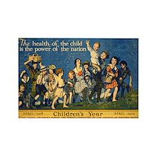 Children's Year Rectangle Magnet