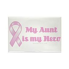 my aunt is my hero Rectangle Magnet
