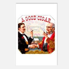 A Good Cigar Label Postcards (Package of 8)
