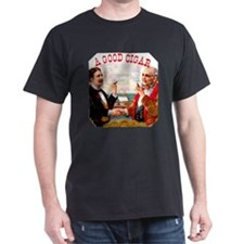 A Good Cigar Label T-Shirt