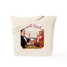 A Good Cigar Label Tote Bag
