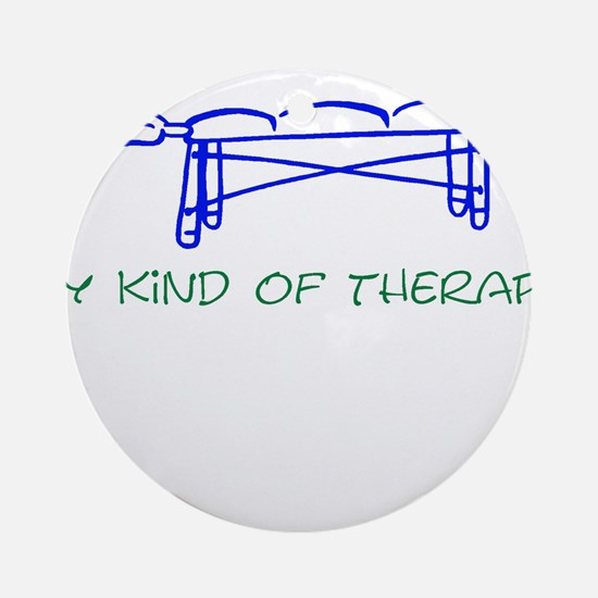 My Kind of Therapy Ornament (Round)