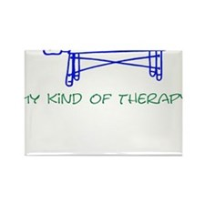 My Kind of Therapy Rectangle Magnet