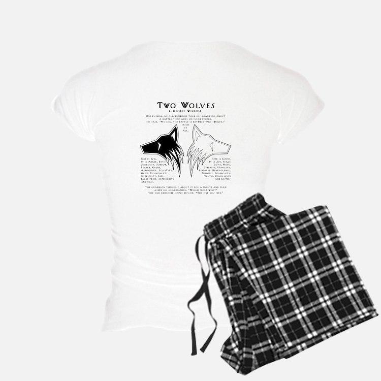 Two Wolves Pajamas