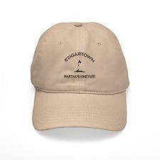 Edgartown MA - Lighthouse Design. Baseball Cap