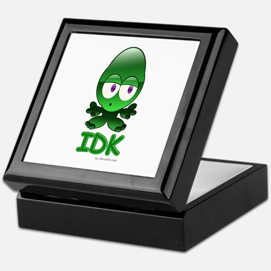IDK - I Don't Know Keepsake Box