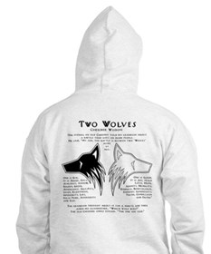 Two Wolves Hoodie