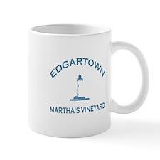 Edgartown MA - Lighthouse Design. Mug