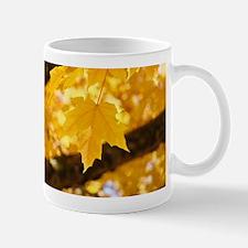 Autumn Leaves Fall Small Mugs