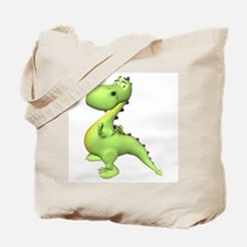 Puff The Magic Dragon - Green Tote Bag