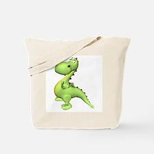 Puff The Magic Dragon - Green Tote Bag