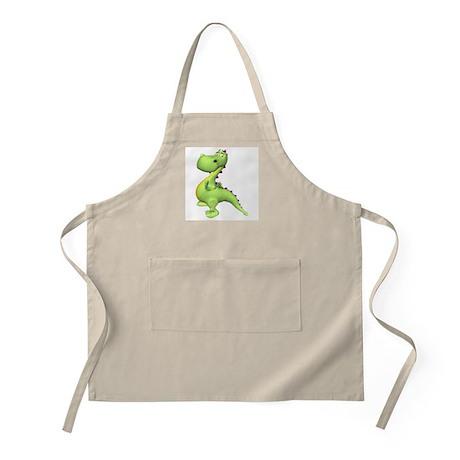 Puff The Magic Dragon - Green BBQ Apron