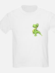 Puff The Magic Dragon - Green Kids T-Shirt