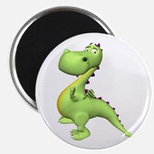 Puff The Magic Dragon - Green Magnet