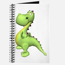 Puff The Magic Dragon - Green Journal