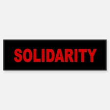Solidarity: Sticker (Bumper)