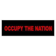 Occupy the Nation Bumper Sticker