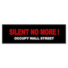 Silent No More: Bumper Sticker