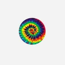 Bright Tie-Dye Mini Button