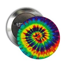 "Bright Tie-Dye 2.25"" Button"