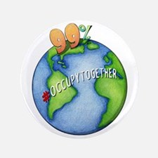 "99% #OccupyTogether - 3.5"" Button"
