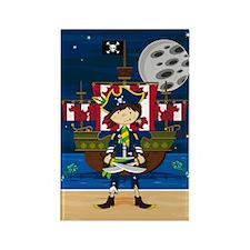 Cute Pirate Captain Magnet