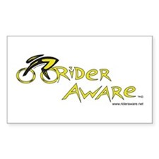 rider aware Decal