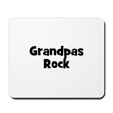 Grandpas Rock Mousepad