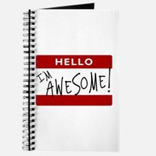 Hello - I'm Awesome! Journal